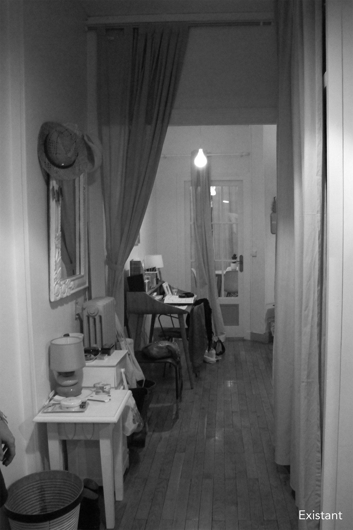 Rue Duquesne - Etat existant