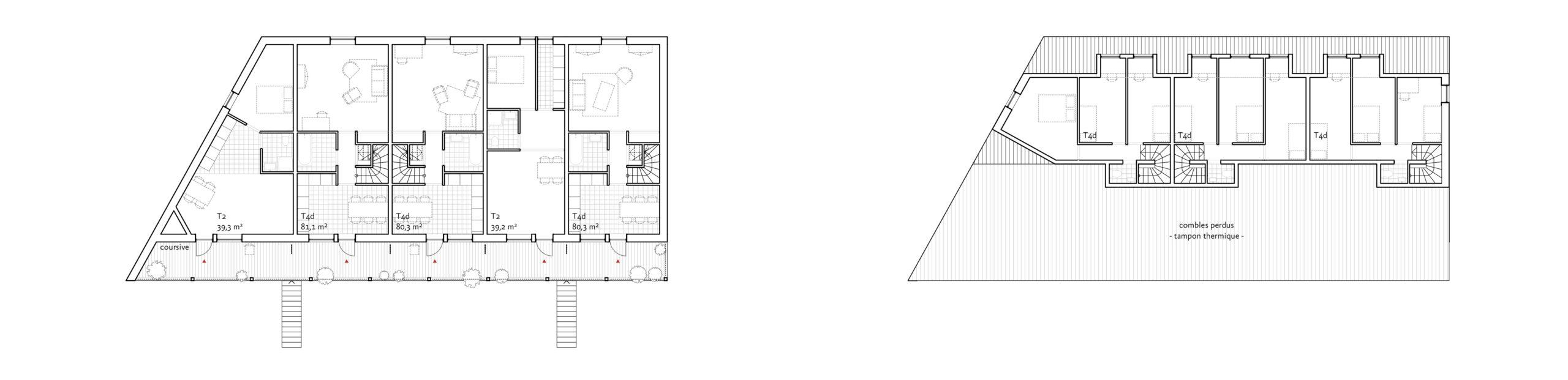 plans des niveaux